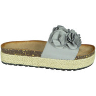 Selene Grey Flatform Beach Comfy Shoes