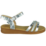 Emberly Silver Light Weight Comfy Shoes