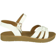 Dylan White Summer Light Weight Comfy Shoes