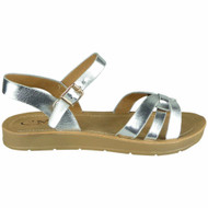 Dylan Silver Summer Light Weight Comfy Shoes