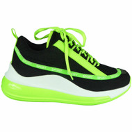 Louisa Green  Wedge Lace Up Classic Trainers