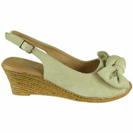 Kailey Beige Light Weight Comfy Buckle Sandals