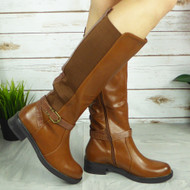 Lauryn Camel Knee High Boots