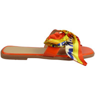 ZAVDIEL Red Bow Flat Beach Comfy Shoes