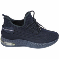 THERESA Navy Jogging Gym Comfy Sneakers