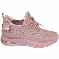 THERESA Pink Jogging Gym Comfy Sneakers