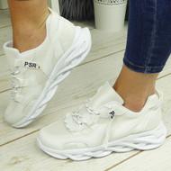 ZAEDYN White Jogging Gym Comfy Trainers