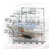 Fiber Corning Unicam Non-Pretium Ceramic Conn. LC 62.5um OM1
