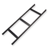 "Ladder Rack 5' x 12"" W Black, ICC"