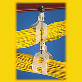 """Loop Cable Hanger 2.5"""" Plenum Rated (Indoor Use Only)"""