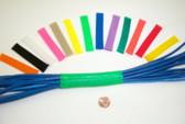 """Cable Wrap, 0.25"""" Neon Yellow, PET, 200' Per Mini Spool"""