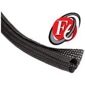 "CableWrap Split F6 1.25"" Black PET, 75' Per Box(10ft min cut"