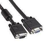 VGA Cable  75' HD15 M/F  W/Ferrite(Premium)