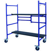 Roll and Fold Mini Scaffold 4'H x 4'W x 1'D