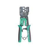 Crimp Tool, Standard RJ11 & RJ45, Ratcheted Design
