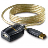 USB 2.0 Extension Cable AA M/F 16' Active Extension