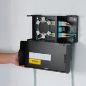 LGX Fiber Optic Wall Mount Enclosure with 2 Panel Slots