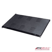 "Shelf Medium DUTY FIXED 19RM 28"" Deep Black, 100 lb Vented"