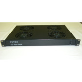 "Fan Tray Unit With 4 Fans, 110V, 1U 19"" Rackmount"