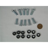 Screws w/Plastic Cup (10 per bag)(for M6 Cage Nut)