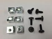 Cage Nut Slide-on + 10-32 Phillips Screws (Bag Of 10)
