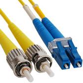Fiber LC/ST SM (Single Mode) Duplex  2 Meter (6.56')  9/125