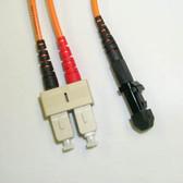 Fiber 50/125 MT-RJ/SC Multimode Duplex 1 Meter (3.28')
