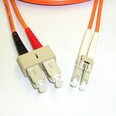 Fiber 50/125 LC/SC Multimode Duplex 3 Meter (9.84')