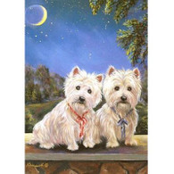 Westie Note Cards Moonlighters
