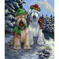 Soft Coated Wheaten Terrier Self Pawtrait Garden Flag