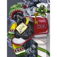 Scottie Scottish Terrier Christmas Flag