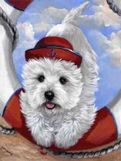 Westie Sailor Flag