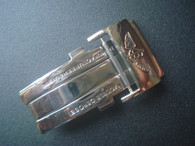 Stainless Steel Deployment Clasp Marked Breitling Logo With 20mm Spring Bar For The 22mm Or 24mm Leather Strap