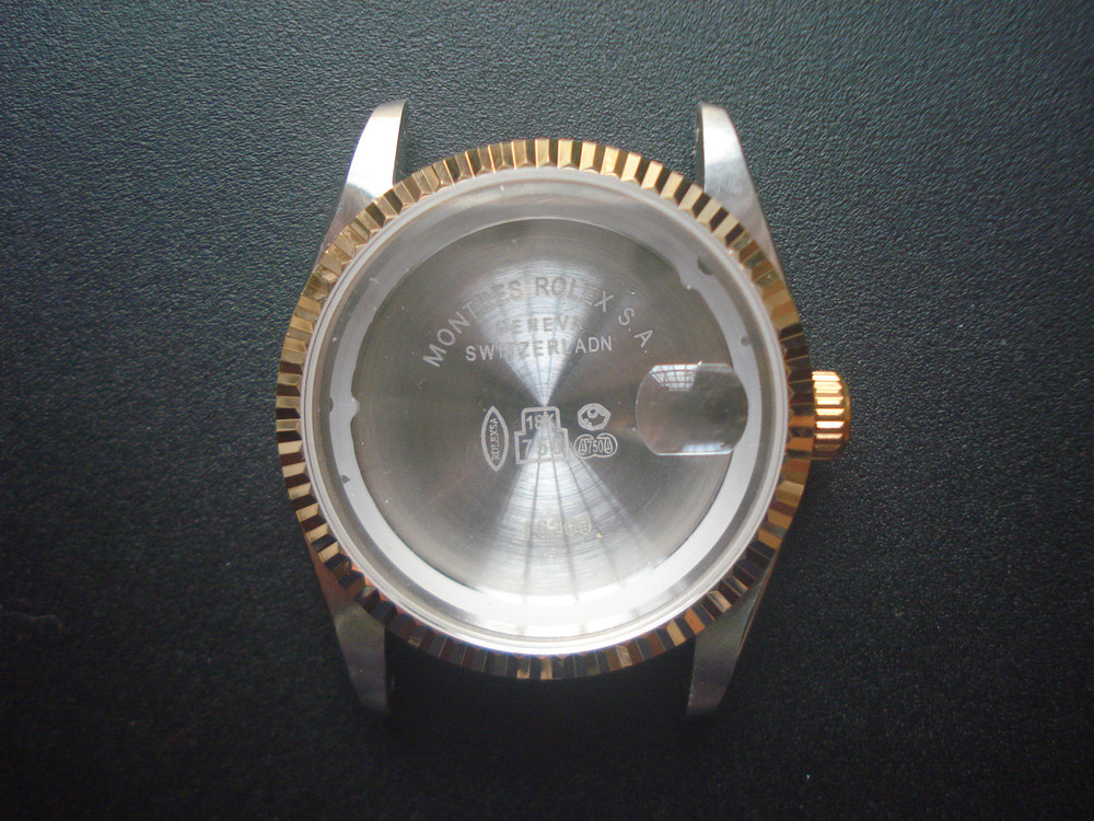Beste ROLEX Signed Vintage Style of 36mm Stainless Steel 2-tone Watch EU-82