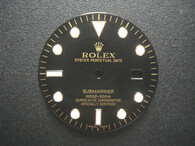 29mm Glossy Black Dial Marked Rolex Symbol With Champagne Letters For Mens 2-tone Or Golden Submariner Watch Fit ETA 2836 Or DG 2813 Or MIYOTA 8215 Automatic Movement With DWO