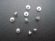 10 Small Steel Screws And 10 Steel Tabs For Mounting MIYOTA 8215 Or DG 2813 Automatic Movement Spacer Ring