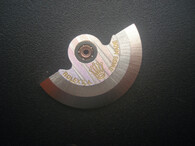 Silver Rotor #2 Marked Rolex Crown Logo Fit The ETA 2836 Or 2824 Or 2834 Movement For Mens Watch