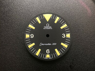 Yellow Lume Omega Seamaster 300 Dial  Witout Date Widnow for ETA 2836 Or 2824 Or DG 2813 Or MIYOTA 8215 Movement