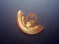 Golden Rotor Marked Rolex Logo Fit The ETA 2671 Movement For Ladies Watch