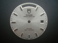28.5mm Silver Dial Marked Tudor Symbol With Silver Sticks For Mens DAY-DATE Watch Fit ETA 2834 Automatic Movement