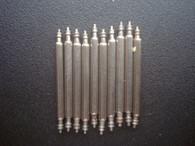 50 Pcs 1.78mm Steel Spring Bar Pins 19mm For Watch Steel Band Bracelet Set Case