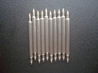 50 Pcs 1.78mm Steel Spring Bar Pins 19.5mm For Watch Steel Band Bracelet Set Case