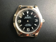 New Style Of Steel Rolex 214270 Explorer 39mm Watch Set  With Smooth Bezel And Black Dial Fit ETA 2824 Movement