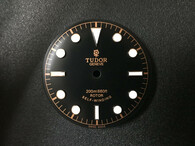 30.7mm Tudor Heritage Black Bay 79220 Dial Marked Rose Logo With Golden Symbol And Super Blue Luminova Fit ETA 2824 Or 2836 Or DG 2813 Or Miyota 8215 Movement And 41mm Watch Case