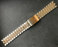 Signed Solid Stainless Steel 20mm Quality Watch Band Bracelet Strap For Mens Old TUDOR Monarch Watch Case With 20mm Lugs Size