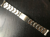 Signed Lighter Stainless Steel All Brushed 20mm Oyster Quality Watch Band Bracelet Strap With Folded Hollow Center Links For Mens Vintage 36mm ROLEX EXPLORER Watch Case