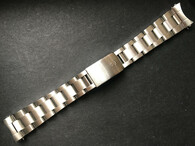 Signed Thicker Solid Stainless Steel All Brushed 20mm Oyster Quality Watch Band Bracelet Strap For Mens Vintage 36mm ROLEX EXPLORER Watch Case