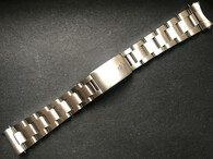 Signed Thicker Solid Stainless Steel All Brushed 20mm Oyster Quality Watch Band Bracelet Strap With 580 End Pieces For Vintage 40mm Rolex 5513 SUBMARINER Watch Case