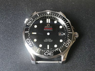 Steel Omega Seamaster Watch Set From MP Factory With Black Bezel And Black Dial Fit ETA 2824 Movement