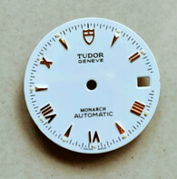 27mm White Dial Marked TUDOR Logo With Golden Roman Numerals And Sticks Fit ETA 2824 Movement For Mens 2-tone PRINCE DATE Watch